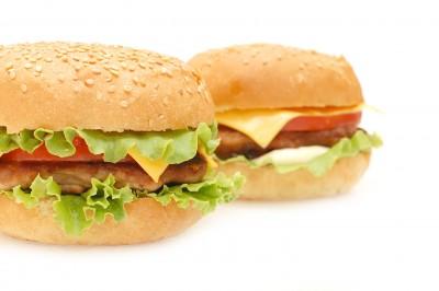 гамбургер, бутерброд, закрытые бутерброды, открытые бутерброды