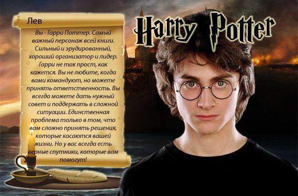 Вы – Гарри Поттер!